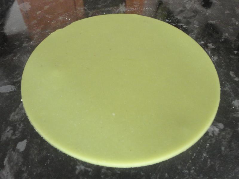 Pâte d'amande maison version Lenôtre