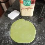 Abaisse pâte amande - fraisier