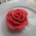 Rose pâte d'amande