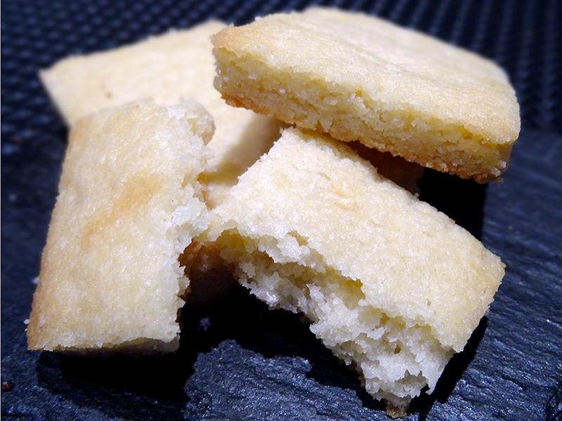 Shortbread à l'amande