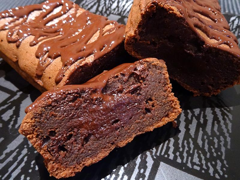 Cakounet coulant au chocolat de Philippe Conticini