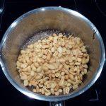 Tarte au chocolat au lait et praliné de cacahuètes