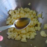 Quatre-quarts aux pommes façon tatin