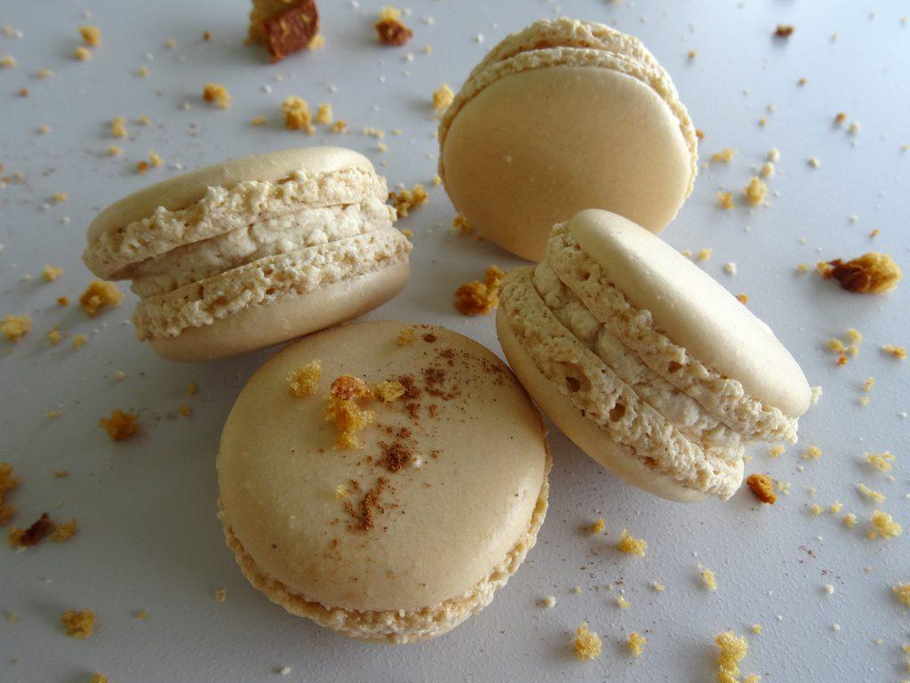 Macaron pain d'épices