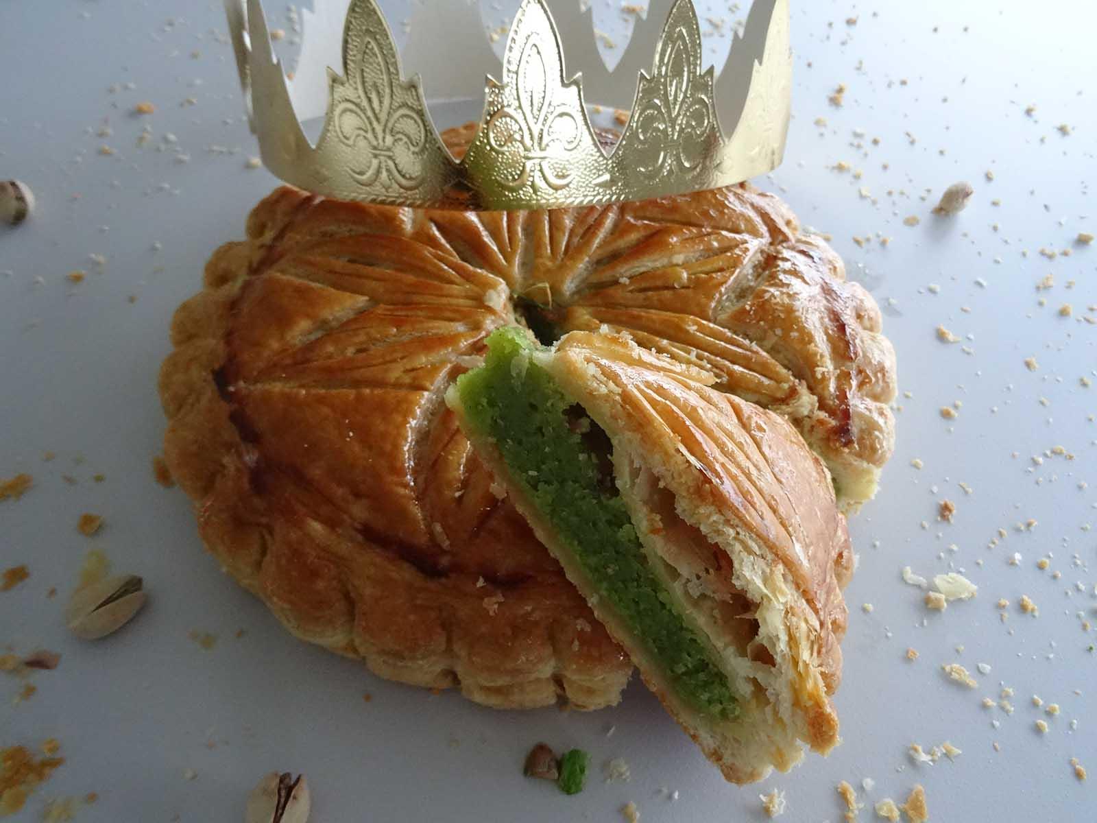 Galette des rois frangipane pistache