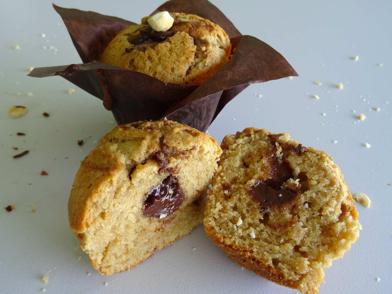 Café Noisette C Est Quoi muffins noisettes choco-café - la cuisine de thomas