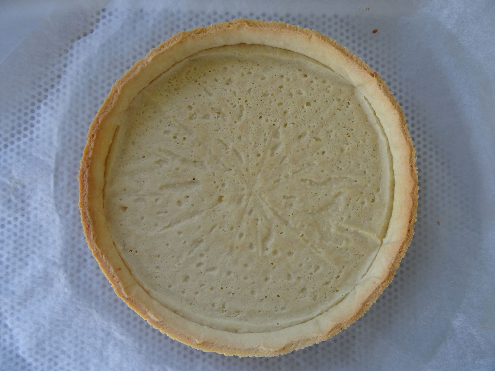Pâte sucrée de Pierre Hermé