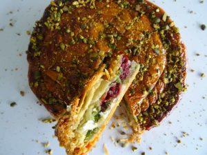 Galette des rois pistache griotte Sébastien Dégardin – Fou de pâtisserie 27