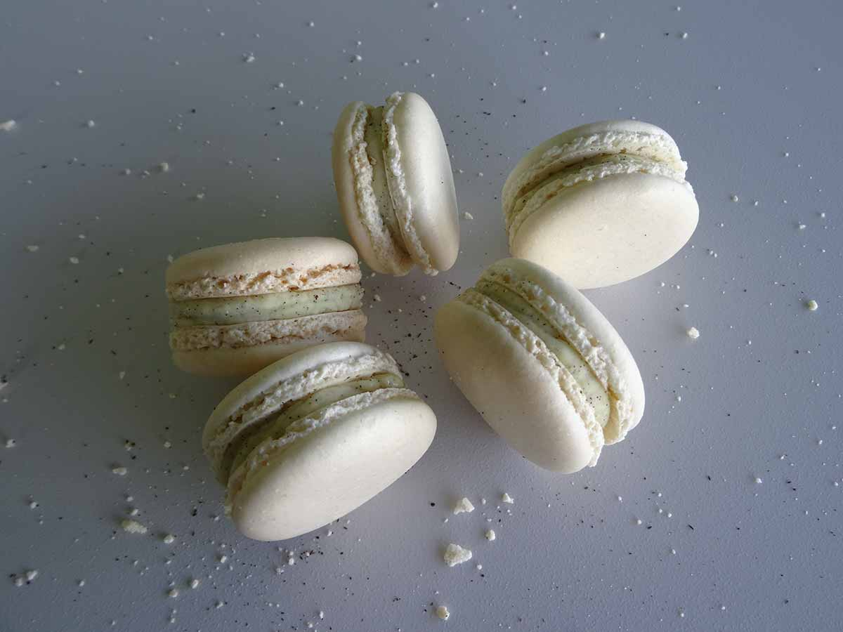 Macarons vanille Pierre Hermé