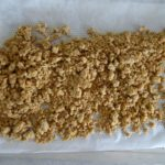Crumble cardamome cuit