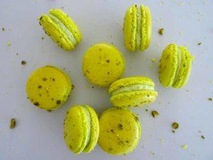 Macarons pistache façon Christophe Felder