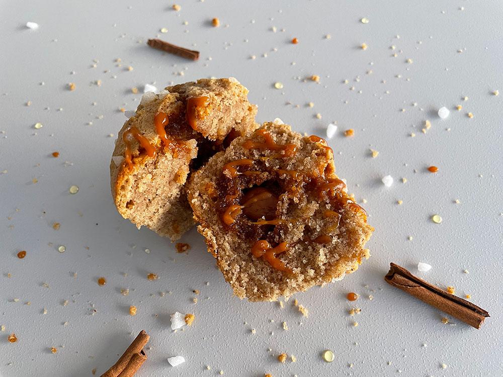 Muffins pain d'épices de Noël