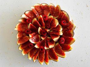 Tarte aux figues fraîches